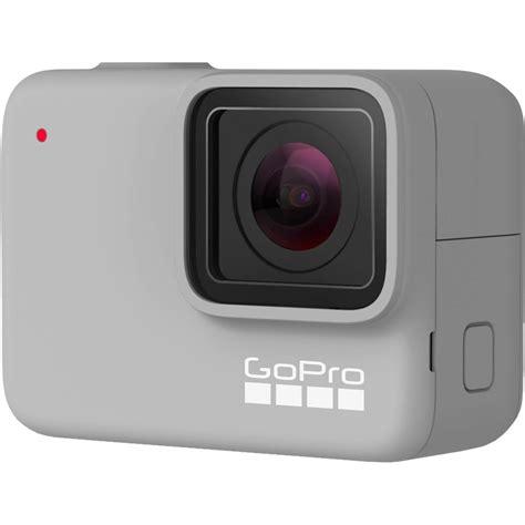 updated gopro hero black silver white camera