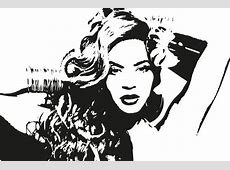 Vector Of Beyonce Clipart