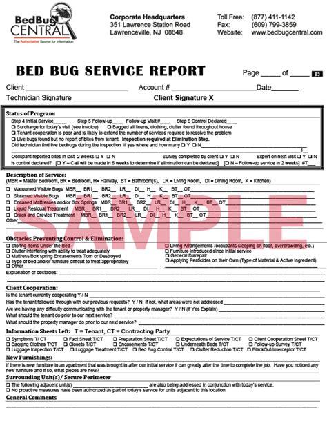 worksmart bed bug documents bedbug central