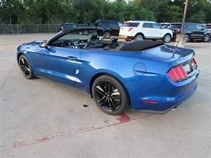 2017 Ford Mustang EcoBoost Premium 5 Miles Lightning Blue Metallic Convertible I - 1FATP8UH6H5225065