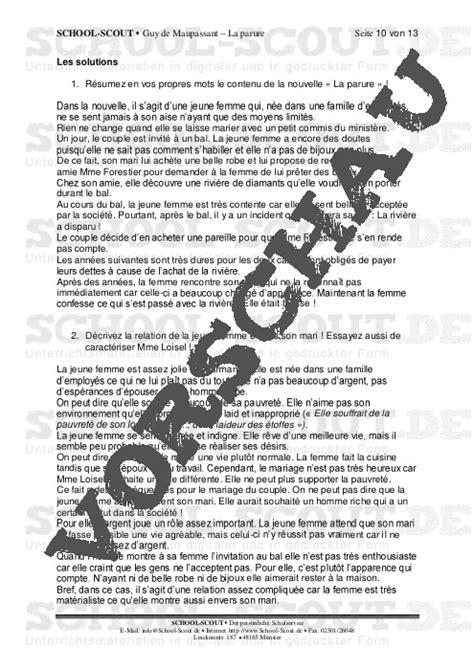school scout interpretationshilfen franz 246 sische literatur