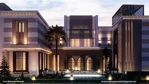 Modern, Islamic, Villa, On, Behance
