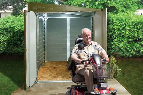 Motorroller Garage by Mobility Scooter Garages And Sheds Trimetals
