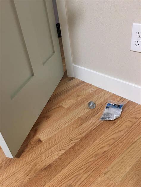 best location to install floor door stop home