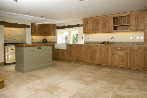 Rustic Oak And Painted Kitchen  Lovewood Kitchens