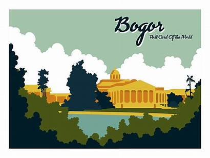 Vector Indonesia Bogor Postcard Clipart Vecteezy Edit