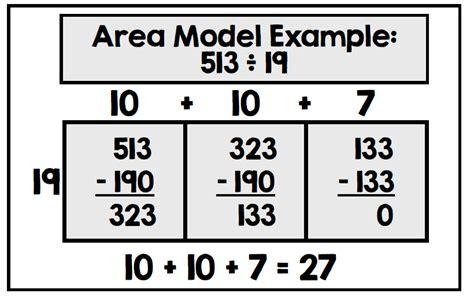 division worksheets area model division grade 5 math