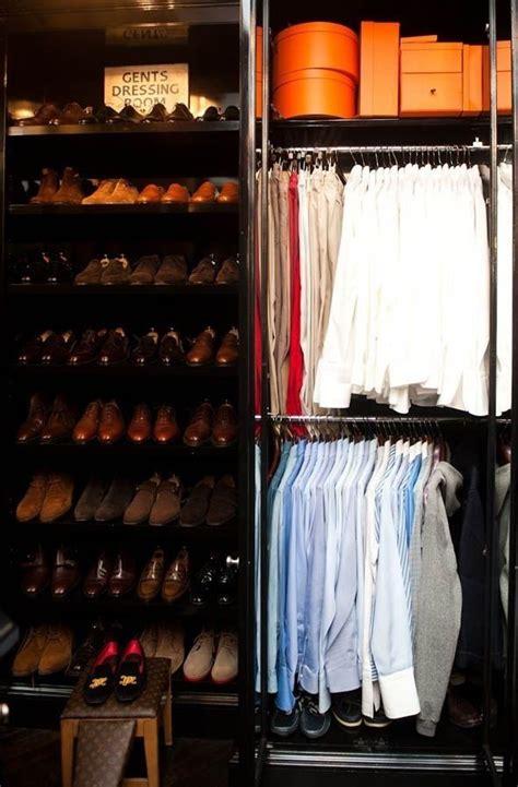 luxury mens closet the armory closet