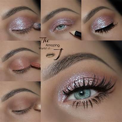 Tutorial Makeup Motives Starshine Glitter Eye Looks