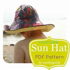 Sun Hat Pdf Pattern