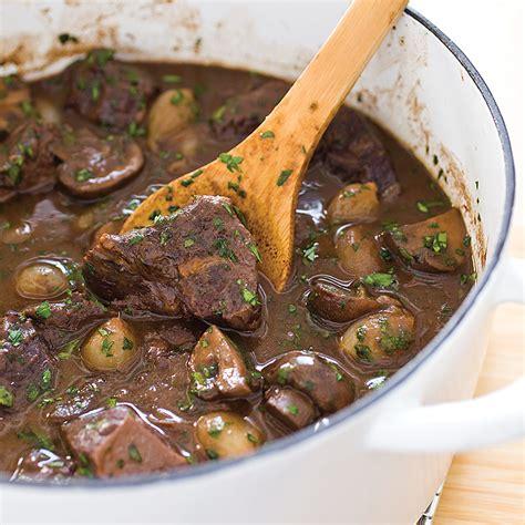 beef burgundy modern beef burgundy america s test kitchen