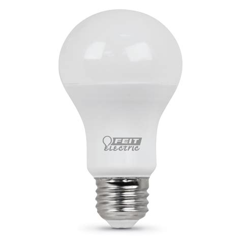 feit electric 60 watt equivalent soft white a19 led medium