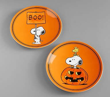 Check spelling or type a new query. Charlie Brown® Halloween Plates | Pottery Barn Kids