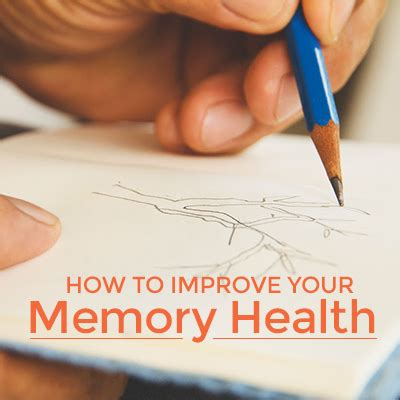 How To Improve Your Memory Health  Your Health