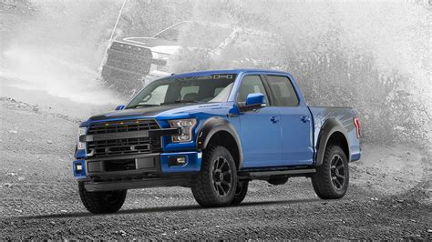 Roush Performance Tunes Up Ford F-150 With Supercharger