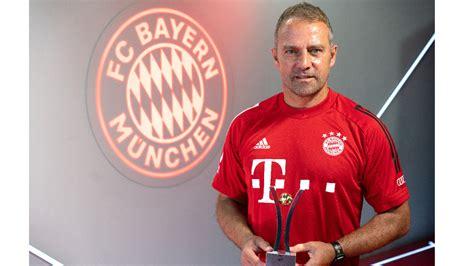 sport bild award fuer bayern trainer hansi flick