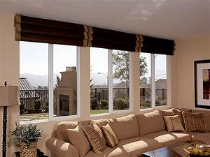 Living room window treatments ideas dream house experience for Living room windows