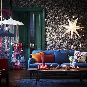 Deco Salon Ikea : nos id es d coration de no l pour sublimer votre int rieur marie claire ~ Teatrodelosmanantiales.com Idées de Décoration
