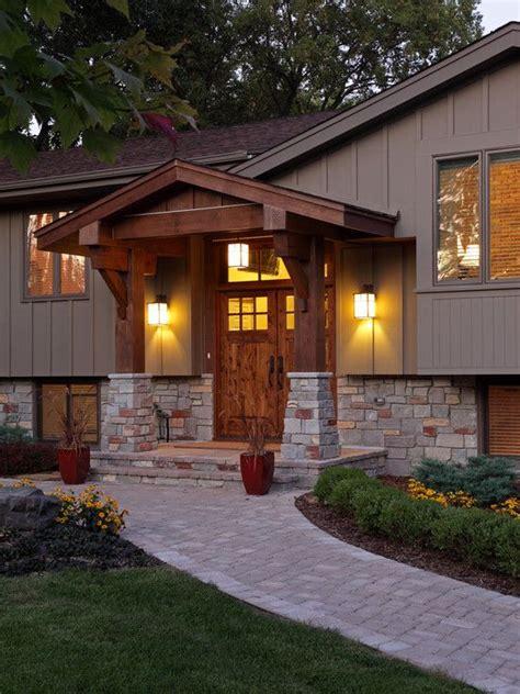 front porch designs for split level homes pinterest the world s catalog of ideas