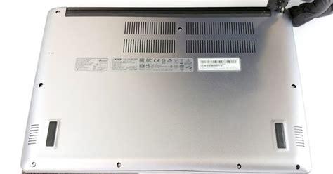 bongkar notebook tipis acer swift  upgrade hddssd