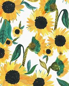 Sunday Sunflowers by @rosieharbottle | watercolor beauties ...