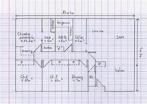 plan maison env 100m2 plain pied en haute garonne 17 With plan de maison 110m2 3 plan maison env 100m178 plain pied en haute garonne 17