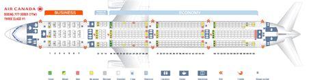 plan siege boeing 777 300er boeing 777 300er seating chart chart