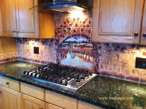 kitchen murals backsplash wine and roses tile mural kitchen backsplash custom tile