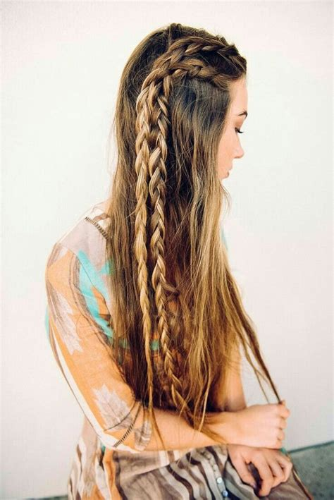 adorable hairstyles  long hair pretty designs