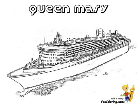 Useful Cruise Ship Coloring Page Pages To Print Oasis Of