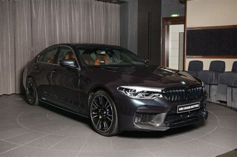 M5 Performance Parts by Singapore Grey Bmw M5 Loaded With M Performance Parts