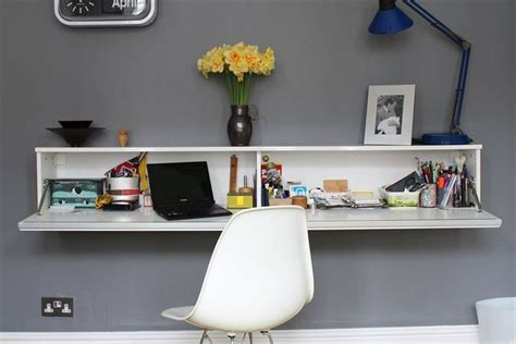 wall mounted desk ikea de 25 bedste idéer til wall mounted desk på pinterest
