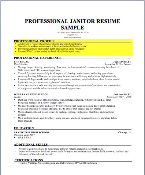 Define Resume by How To Write A Resume Profile Exles Writing Guide Rg