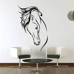 horses head wall art stickers wall decal transfers ebay