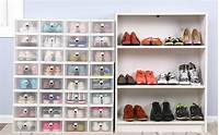 how to store shoes Best Shoe Storage Boxes: How to Organize Your Closet for ...