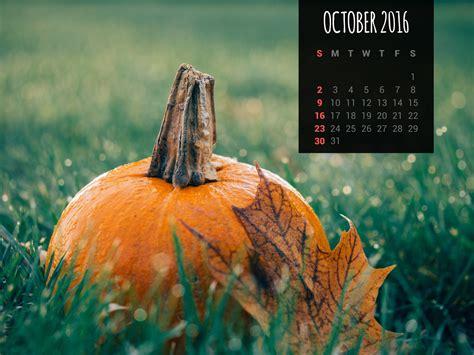 Calendar Wallpapers: Free October 2016 Desktop Backgrounds