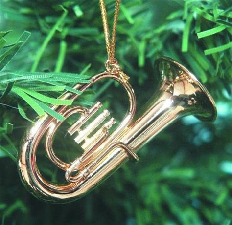 musical instrument christmas ornaments christmas tree