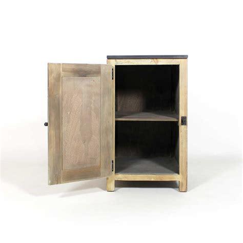 meuble cuisine bois meuble cuisine rangement bas poignée style frigo made in