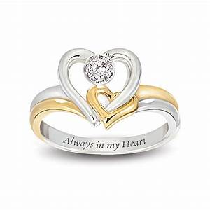 design wedding rings engagement rings gallery always in With heart wedding ring