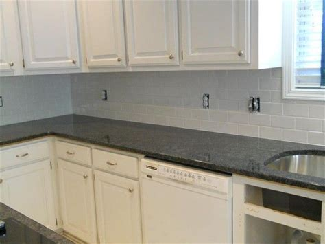 grey kitchen tile steel grey granite white subway tile 1 kitchen 1505
