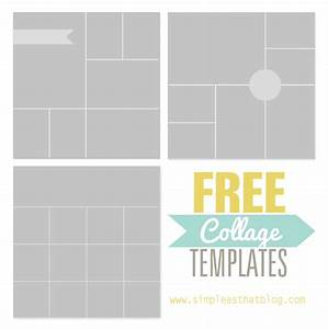 free photo collage templates from simple as that With 4 picture collage template