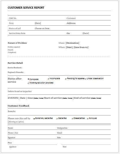 customer feedback forms  ms word  word excel
