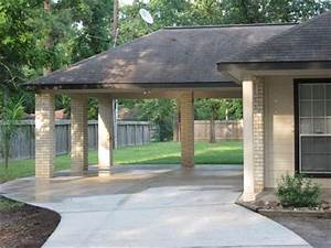 Porte Cochere For Parking Or Entertaining Garage