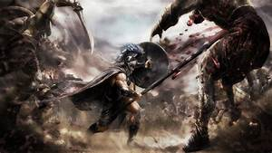 Fantasy artwork greece warrior troy wallpaper | 1920x1080 ...