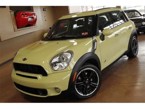free service manuals online 2011 mini cooper countryman navigation system buy used 2011 mini cooper countryman s all4 6 speed manual 4 door wagon in north canton ohio