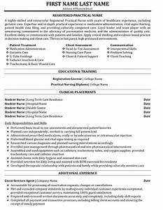 Registered Practical Nurse Resume Sample & Template