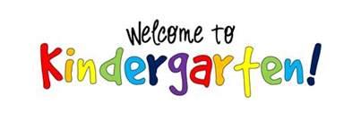 Information for Incoming Kindergarten Families