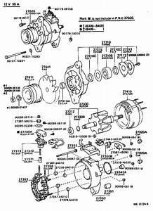 Toyota 4runner Alternator  Remanufactured Alternator