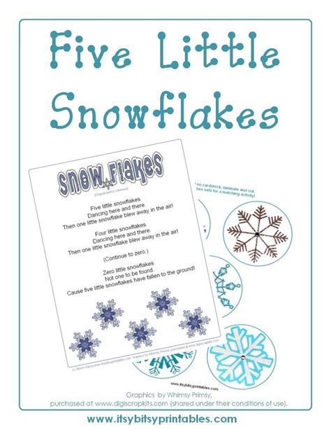 a free printable poem about a snowman for kindergarten
