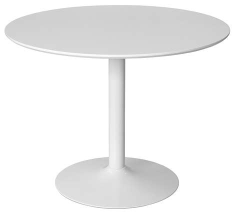 Round Top White Matt Dining Table - Be Fabulous
